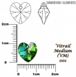 Swarovski HEART 6202 -10,3x10 mm-Vitrail medium