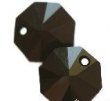 Swarovski OCTAGON 6401- 12mm,čierny