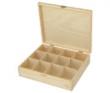 krabička na čaj 12-priehradková