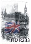 Ryžový papier 210x297mm- Londýn