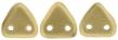 CZECH MATES TRIANGLE 6mm-5g-Matte metallic flax