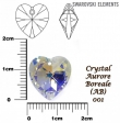 Swarovski HEART 6228 -14x14 mm,crystal AB