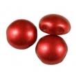 Korálky CANDY 8 mm/10 ks/Chalk Lava Red