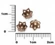 Kaplík 6 mm- 10 ks v balení-staromedený