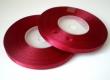 saténová stuha 6.5 mm - cena za 1 m-bordová