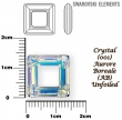 Swarovski SQUARE 4439,14 mm- Crystal AB