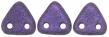 CZECH MATES TRIANGLE 6mm-5g-Metallic suede purple