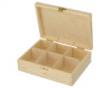 krabička na čaj 6-priehradková