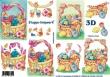 3D obrázky- Veľkonočné košíky