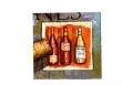 Maľované fľaše na víno