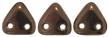CZECH MATES TRIANGLE 6mm-5g-Dark bronze