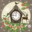 Kukučkové hodiny, sob a vianočné motívy