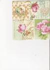Retro pohľadnice, kvety a anjelik