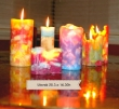 Mihotavé svetlo sviečok