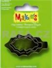 Sada kovových vykrajovátok MAKINS-3ks-listy