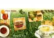 Rôzne druhy čajov v šálkach