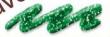 Glitter liner 28 ml- zelený