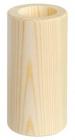 Drevený svietnik, valec 10cm