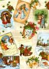 vianočné retro obrázky