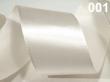 atlasová stuha 25 mm - cena za 1 m-biela