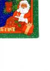 Santa Claus číta zoznam darčekov