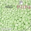 Vosk korálky POHÁNKA 5x3.5mm-20 ks-pastel zelené