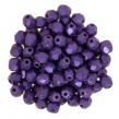 OHŇOVKY- 4 mm/50 ks /Metallic suede purple