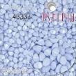 Vosk korálky POHÁNKA 5x3.5mm-20 ks-pastel modré