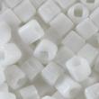 Toho CUBE 3 mm-Opaque white- 10g