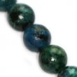 Minerálne kamene- CHRYZOKOL 6mm- 10 ks v balení