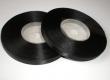 saténová stuha 6.5 mm - cena za 1 m-čierna