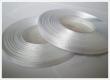 saténová stuha 6.5 mm - cena za 1 m-biela