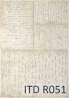 Ryžový papier 210x297mm- Staré listy
