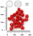 OHŇOVKY- 4 mm,nepriehľadná červená