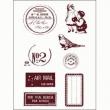 silikónové pečiatky-Francúzke nápisy