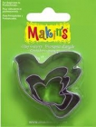Sada kovových vykrajovátok MAKINS-3ks- holubice