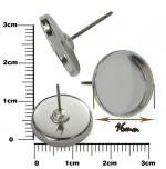 Lôžko na živicu -Puzeta s plôškou 16 mm, 2 ks