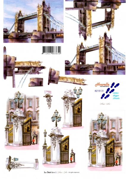 3D- obrázky- Londýn