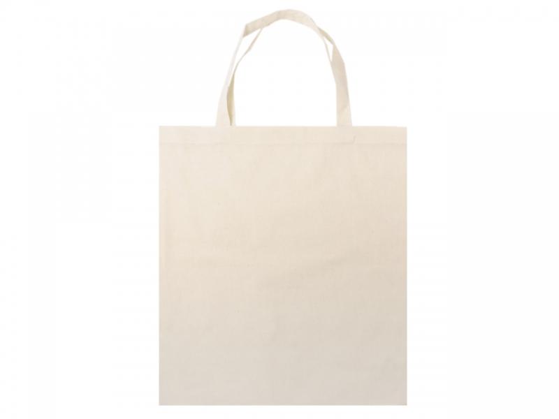 bbfe127015 Textilná taška-ľanová-38x42 cm s krátkym uškom