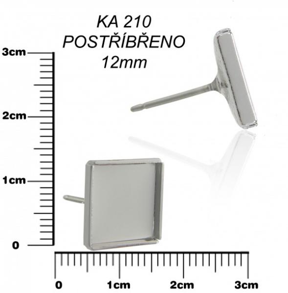 Lôžko na živicu -PUZETA so štvorcom 12x12mm